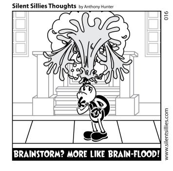 Silent Sillies Thoughts 016 by JK-Antwon