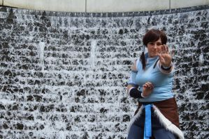 Avatar Korra: Fountain by Mikstik
