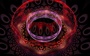 colourful creation with weird rings by Andrea1981G