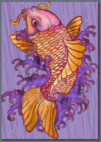 Koi colored by ContntlBreakfst