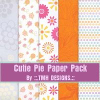 Cutie Pie Paper Pack by frenzymcgee