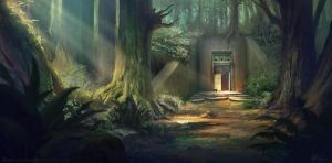 Forest Bunker by C0ldsight