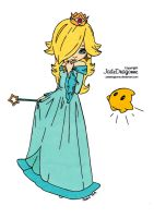Princess Rosalina Colored by Maiko-Girl