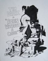 Robin Without A Cause by wfbarton