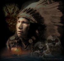 Native American Indian by quirkey03