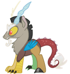 Discord is the Best Pony by Vanderlyle