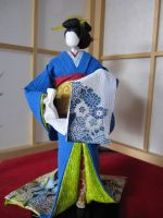 Geisha Doll by Japanesepaperdoll