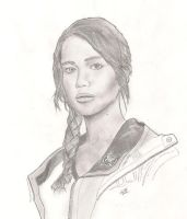 Katniss Everdeen by Grubbins-LoK