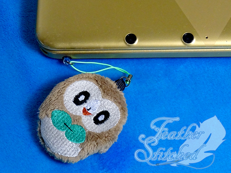 Rowlet Soft Charms by FeatherStitched