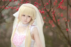 Chii Bride Chobits by kirawinter