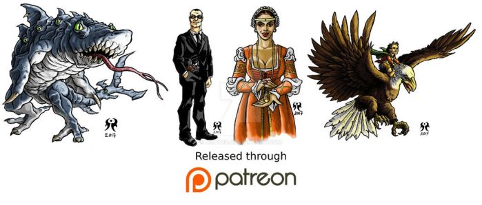 February 2017 Patreon Release by artikid