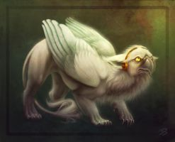 The Meekest Gryphon by HanMonster