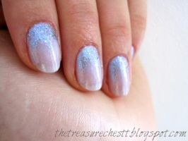 Snow Queen Nails by IoanaZ
