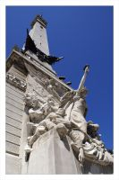 Monument Circle by Aeires