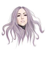 gaga purple by arinako