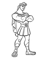 Hercules by Writer-Colorer