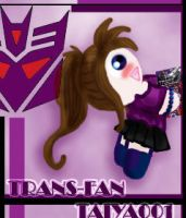 TF Transfan Card  Taiya001 by Taiya001