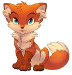 Little Fox by hibbary