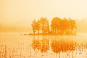 Orange sunrise by RobinHedberg