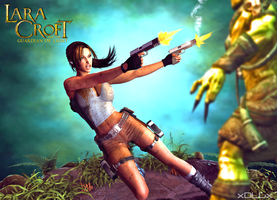 Lara Croft GOL Wallpaper by xDLGx