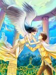Commission: Helios and Sunna by starca