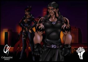 Blaq Roze and Fatal Kain by Cahnartist