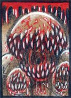 Deadly Spawn -ACEO- by Undead-ART-ACEO
