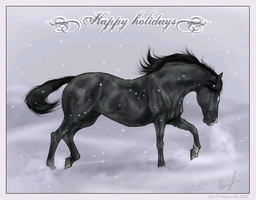 Happy Holidays by Hazel-rah