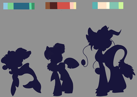 Pallete Ponies .:CLOSED:. by Sutexii