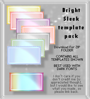 Bright Sleek - Template Pack by AssClownFish