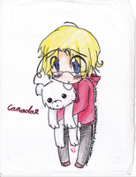 APH - Chibi Canada by CaptainJellyroll