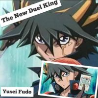 Yusei Fudo Wallpaper: ~The New Duel King~ by XxXxRedRosexXxX