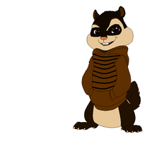Flynn the BeavCoon by CharleneandChipettes