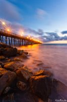 Gleaming Pier by AndrewShoemaker