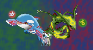 White x N:.. Hoenn Legends by Rindiny