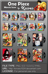 One Piece Movie Folder Icon by Knives by knives1024