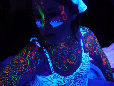 Blacklight Graffiti Stock XV by Melyssah6-Stock