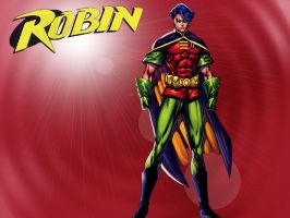 Wall Paper - Robin by Divided-Chaos