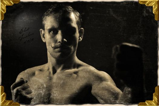 Eliot Truelove - Bare Knuckle Boxer Close up by TrueLovePrevails