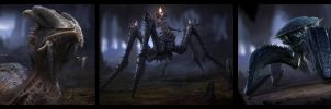 Insect creature stuff by Der-Reiko