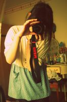 Me and the camera by CrystalisedX