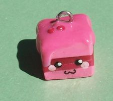Petit Four Charm by SeaOfCreations