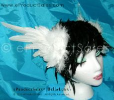 Bella Luna Head piece Wings by eProductSales