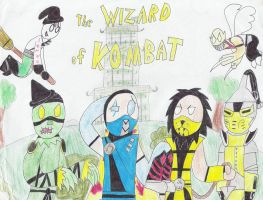 Wizard of Kombat by Kaydragon