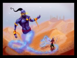 The Djinn by maeshanne