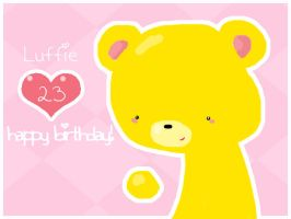 Birthday Card for Luffie by ChocoBinx