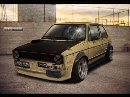 VW Golf MK1 GTI by roleedesign