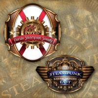 Logodesign for: The Florida Steampunk Society by IllustratorG