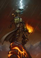 Warcraft tribute - Thrall by b-cesar