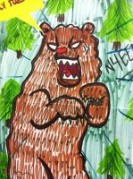 ANGRY BEAR by MamaGizzy